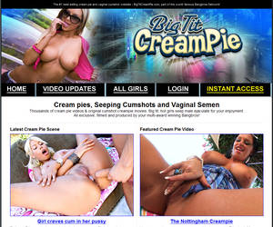 Welcome to Big Tit Creampie - best selling cream pie and vaginal cumshot videos!