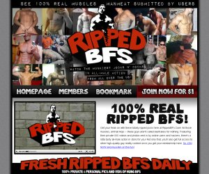 Get your freak on with these totally ripped jocks here at RippedBFs.Com!