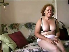 Enjoy my busty mature wife. Amateur older