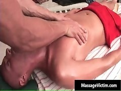 Hot and horny dude gets the massage gay porno