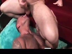 Hot gay sex during pool match gay porno